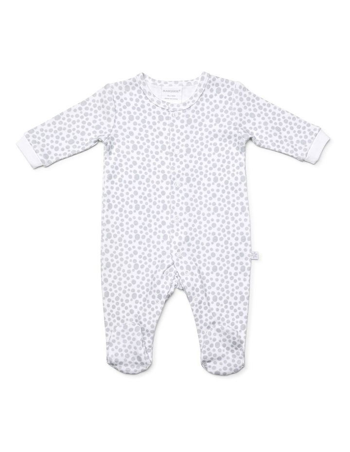 Unisex two pack footed studsuit image 2