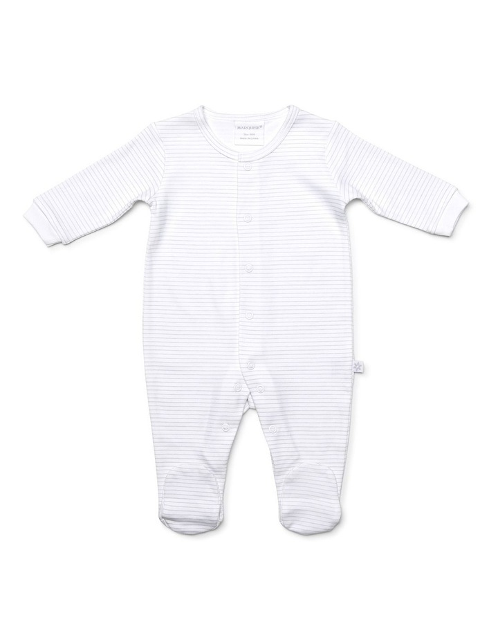 Unisex two pack footed studsuit image 3
