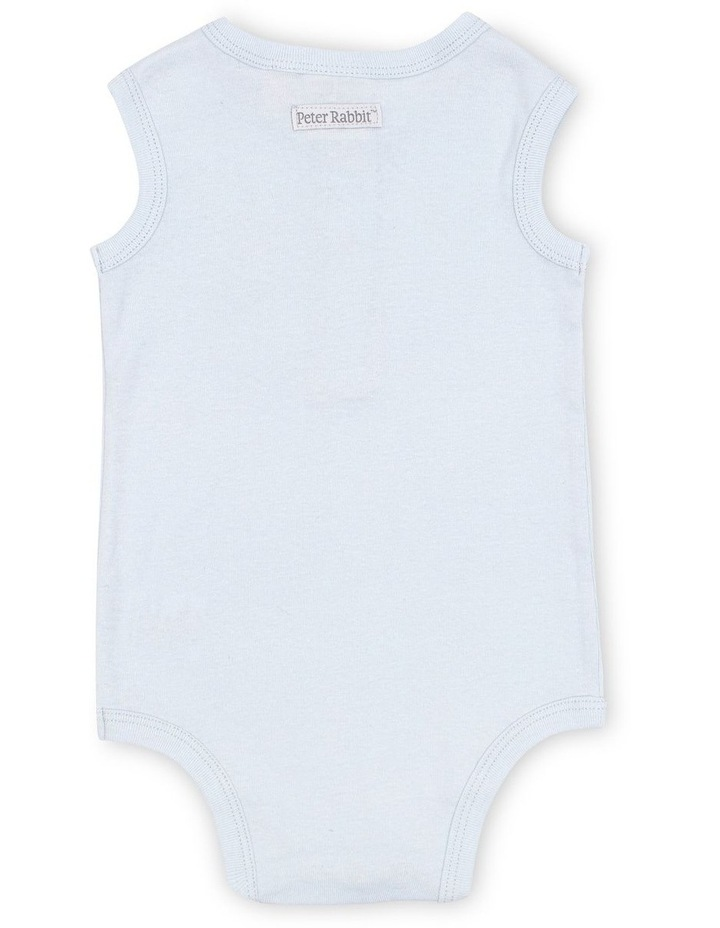 Sleeveless Henley Bodysuit image 2