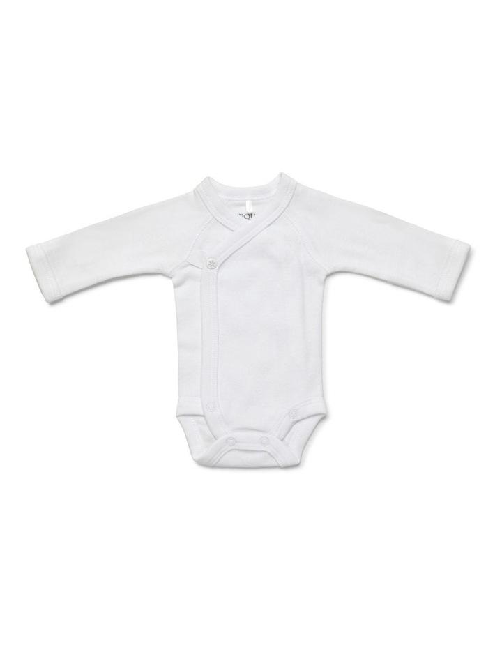 Premmie Long Sleeve Wrap Bodysuit image 1