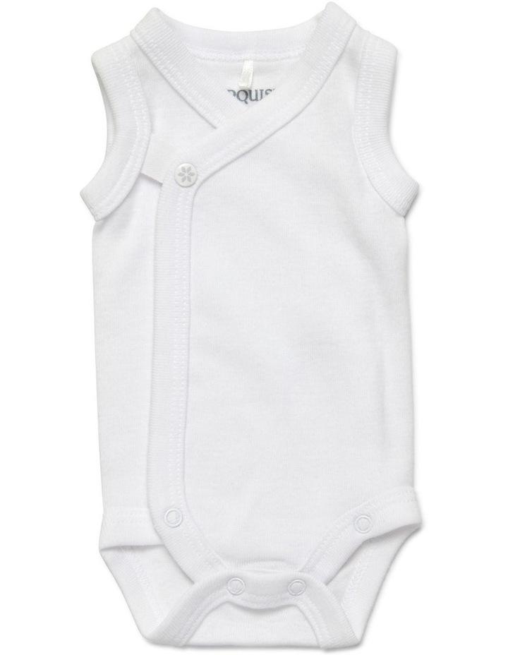 Premmie Sleeveless Wrap Bodysuit image 1