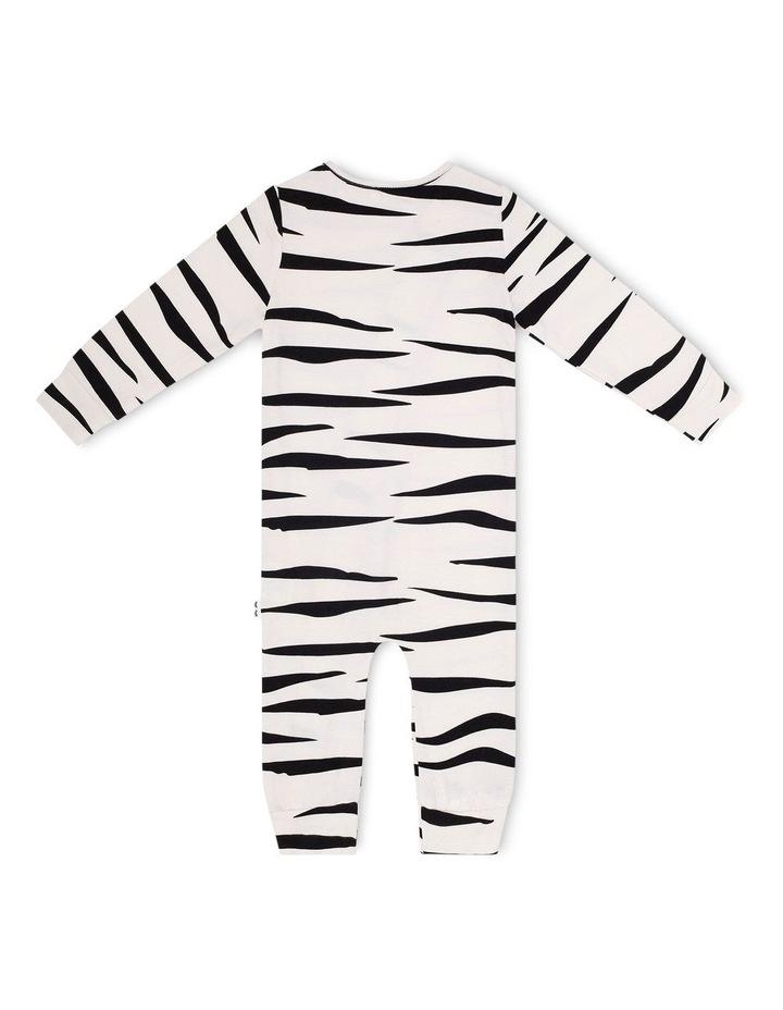 Zebra Skinny Onesie image 2