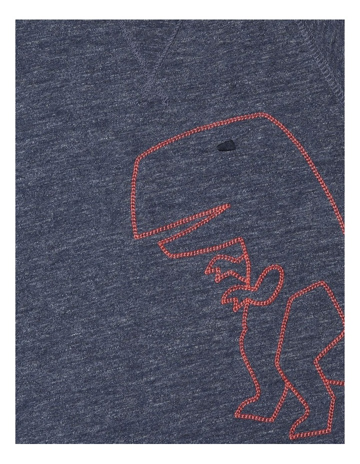 Dinosaur French Terry Romper image 2