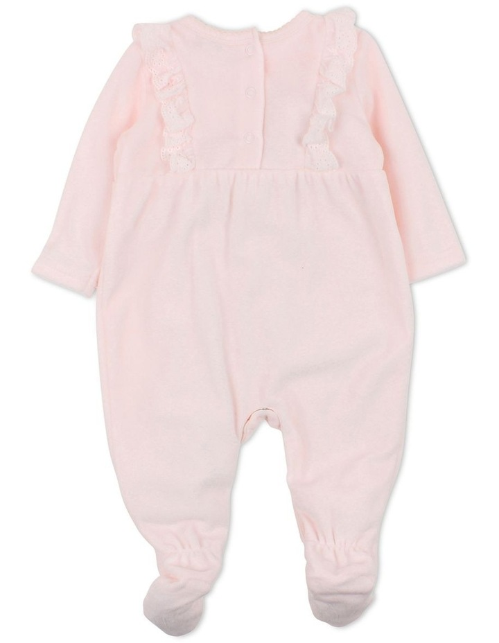 Penny Pink Velour Romper image 2