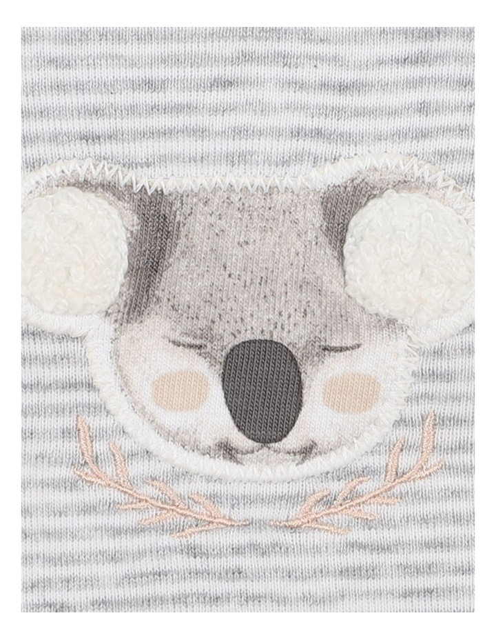 Aust Long Sleeve Stripe Romper image 3