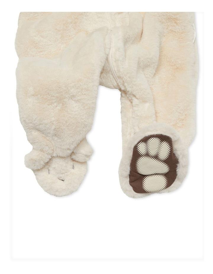 Faux Fur Bunnysuit Sand image 2