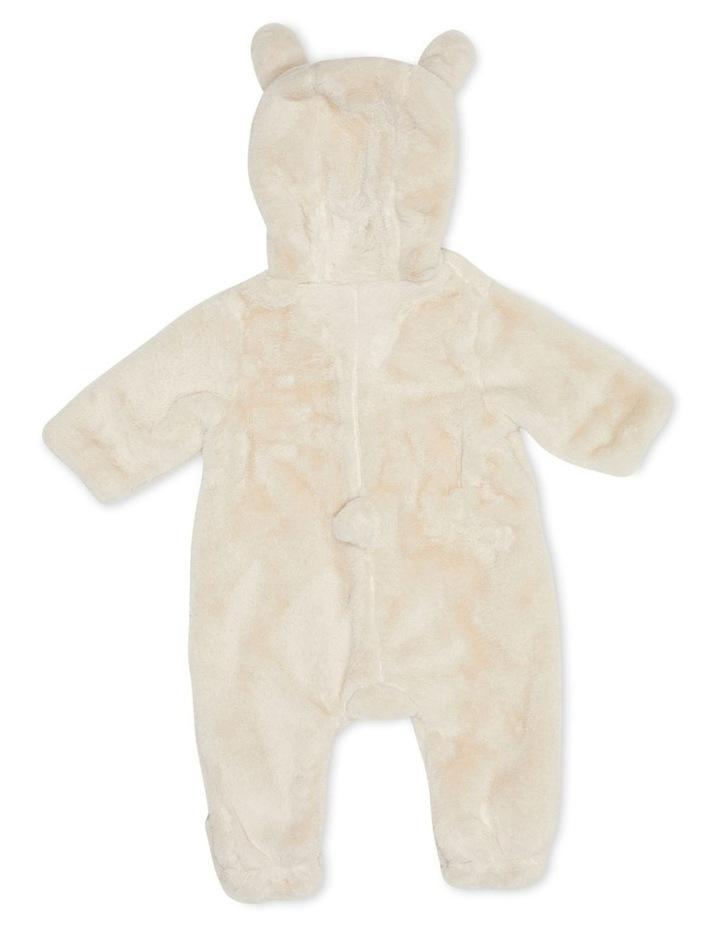 Faux Fur Bunnysuit Sand image 3