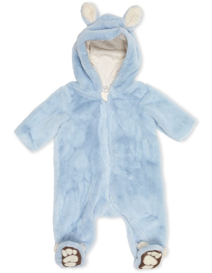 Faux Fur Bunnysuit Blue image 1