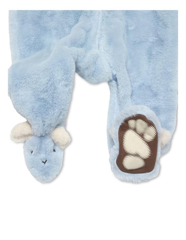 Faux Fur Bunnysuit Blue image 2