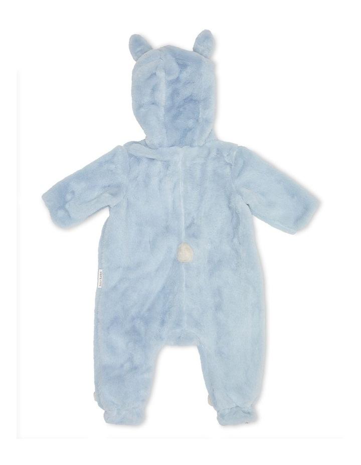 Faux Fur Bunnysuit Blue image 3