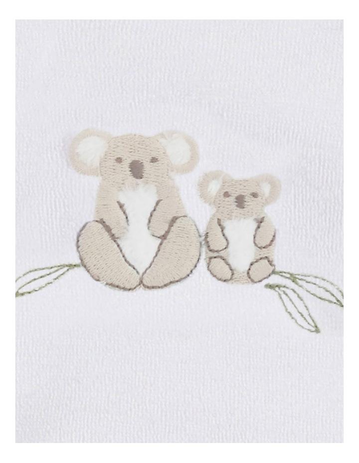 Jordan Long Sleeve Koala Zip Romper Ivory image 3