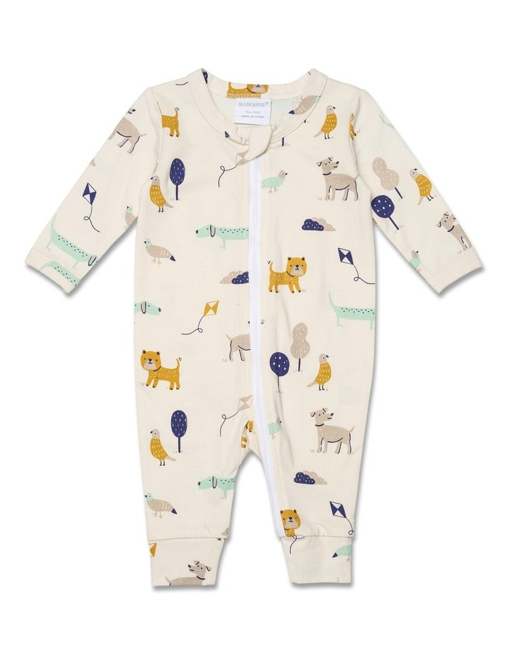 C/E ZIPSUIT/COVERALL FOOTLESS image 1