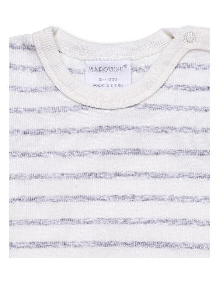 2X2 Cotton Elastane Short Sleeve Bodysuit image 2