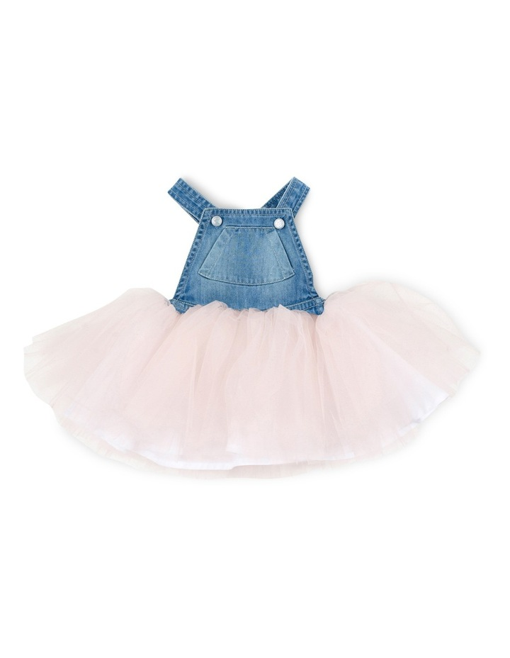 Tweet Denim Overall Dress w Tulle image 1