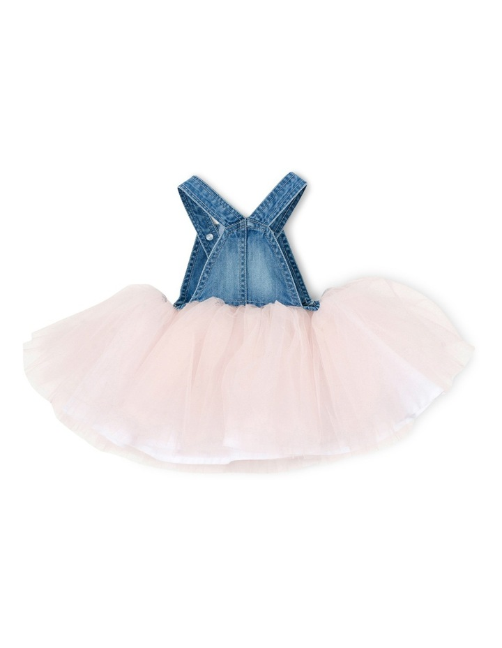 Tweet Denim Overall Dress w Tulle image 2