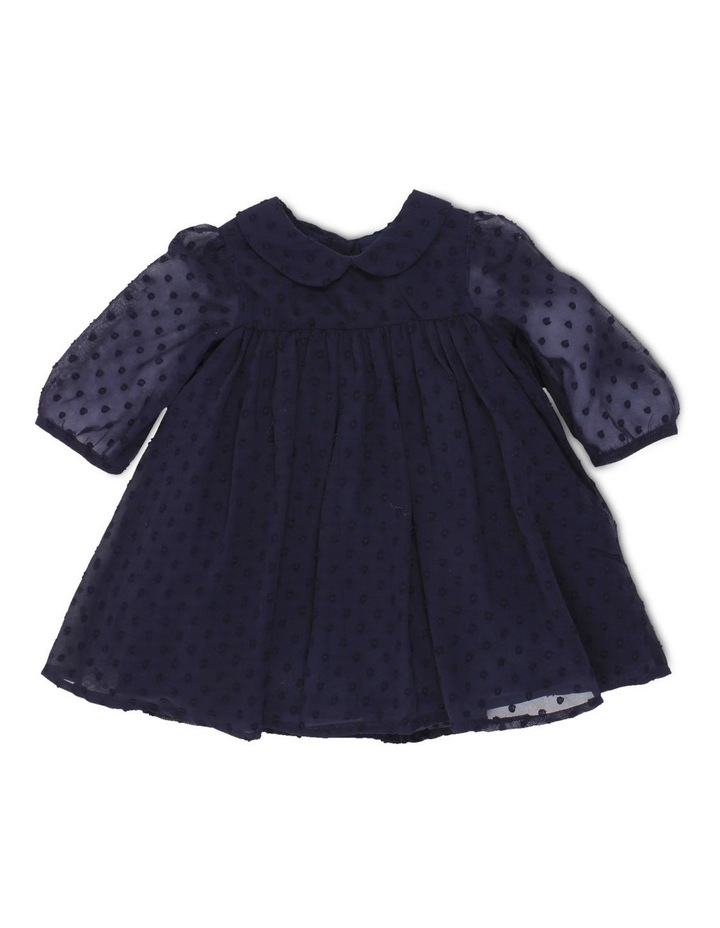 DOBBY CHIFFON DRESS image 1