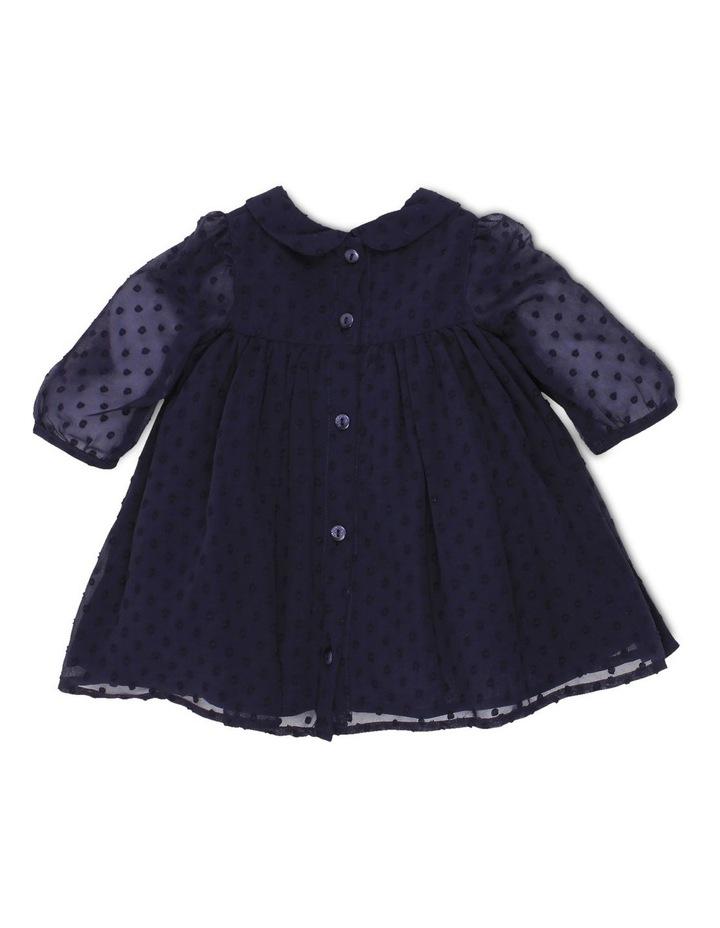 DOBBY CHIFFON DRESS image 2