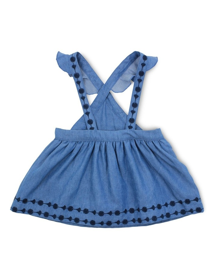 Image result for Viola Denim Pinafore by Bebe