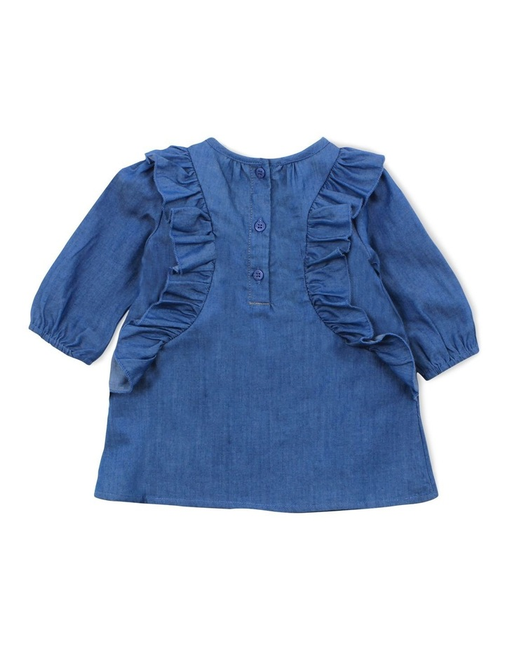 CONFETTI DENIM DRESS image 2