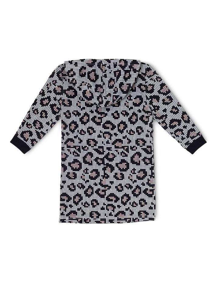 Leopard Print Hooded Dress image 2