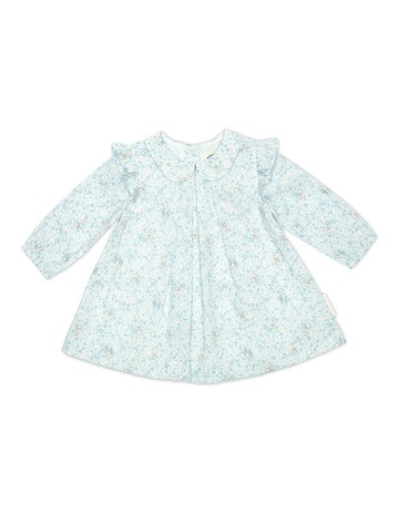 0a0e52e37819 Peter Rabbit Floral Poplin Dress