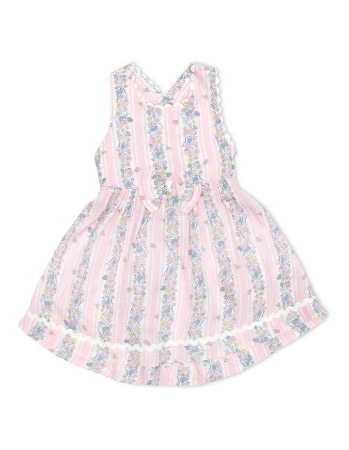 Crepe Dress with Ric Rac Trim image 1