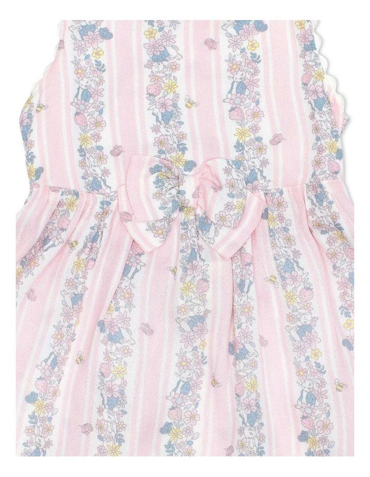 Crepe Dress with Ric Rac Trim image 3