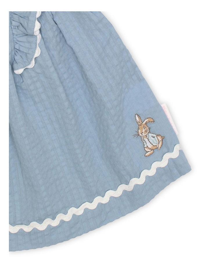 Seersucker Ruffle Dress image 3