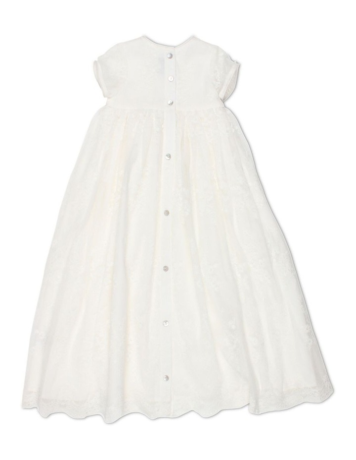 Christening Gown With Front Bow image 2