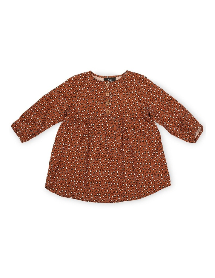 All The Spots Long Sleeve Dress image 1