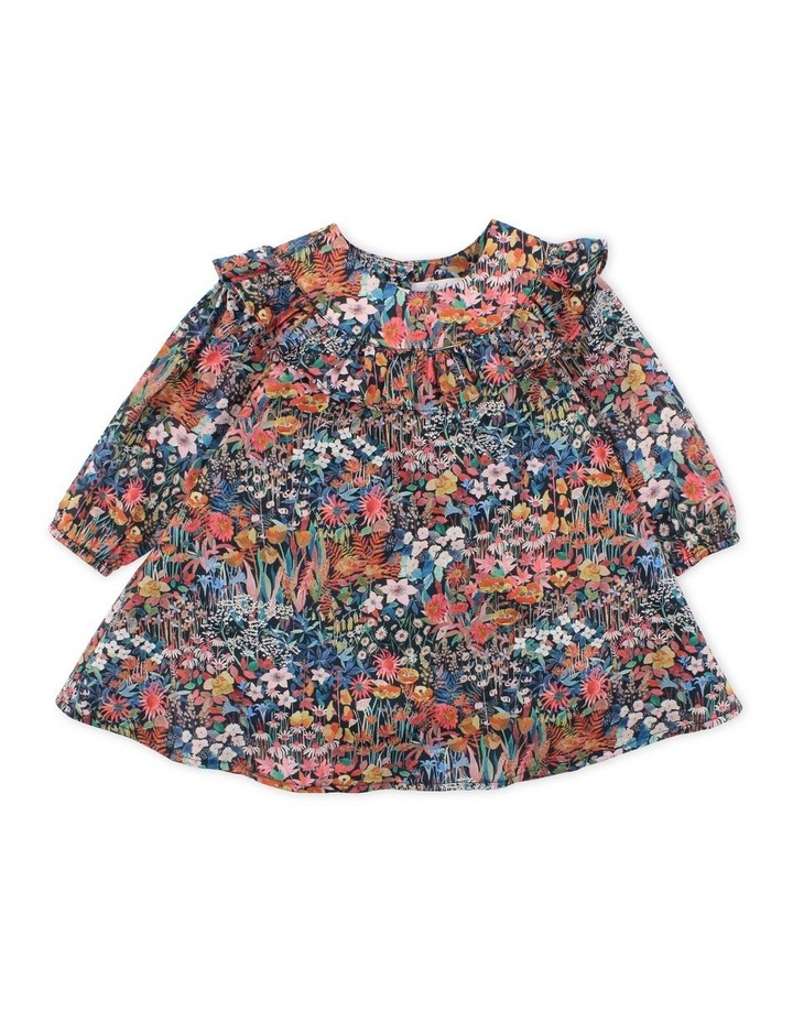 Liberty Faria Flowers Yoke Frill Dress image 1