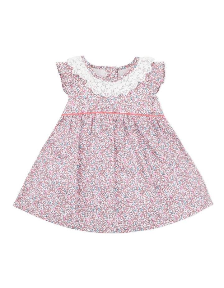 Liberty Lace Collar Dress 3-5 Years image 1
