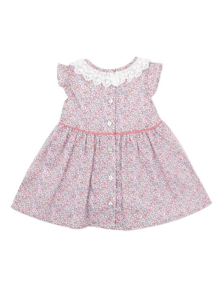 Liberty Lace Collar Dress 3-5 Years image 2
