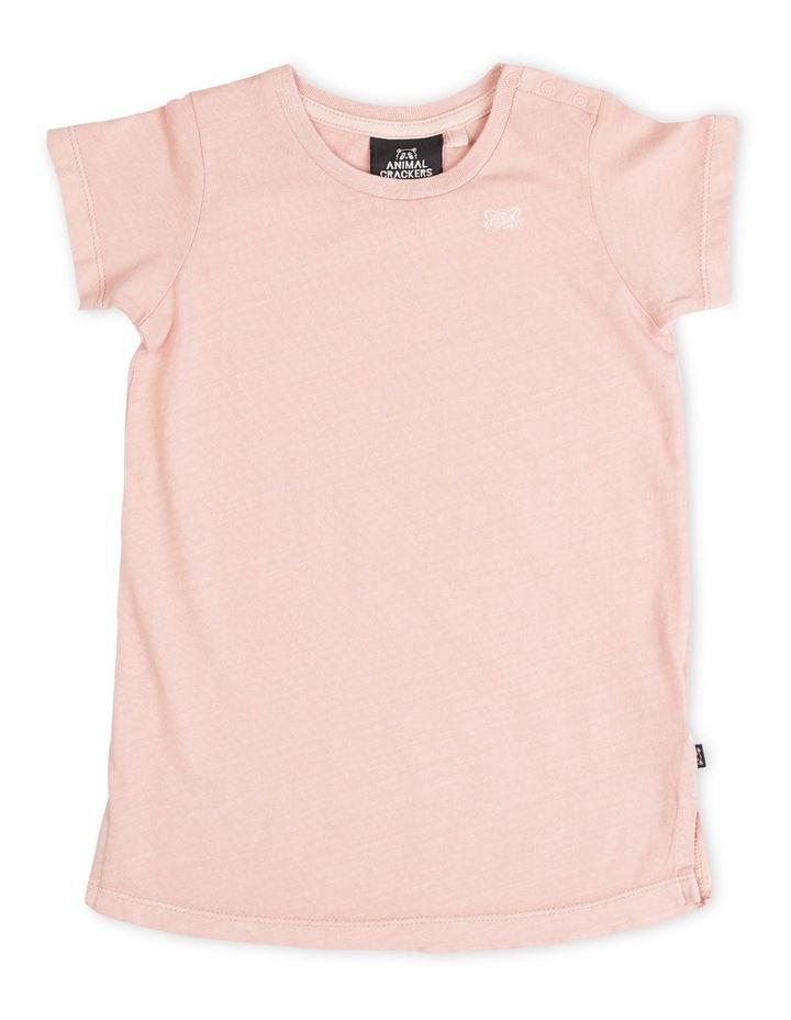 Pia Tee Dress - Pink image 1