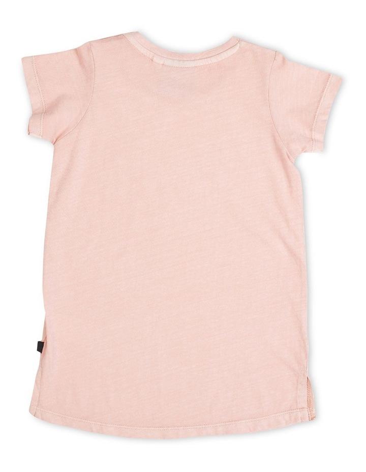 Pia Tee Dress - Pink image 2