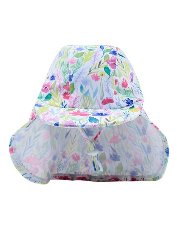 57c25b49f19 Bebe Hailey Floral Legionnaires Hat