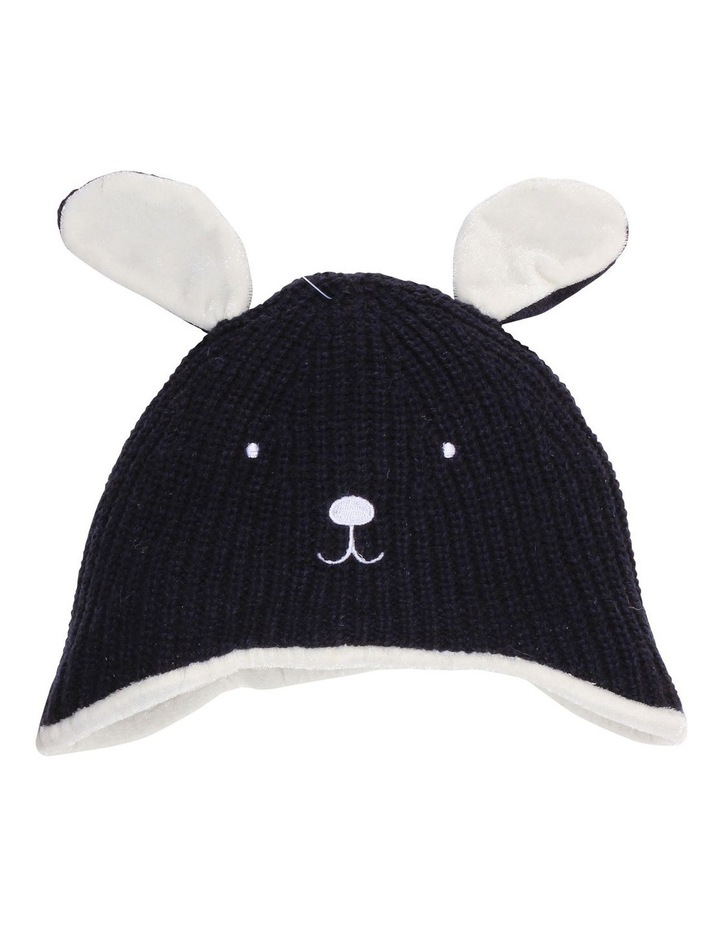 WOOF KNIT BEANIE image 1