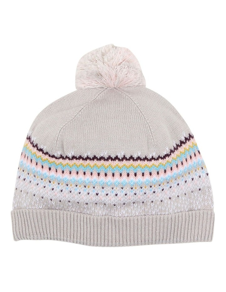 NORDIC KNIT BEANIE image 1
