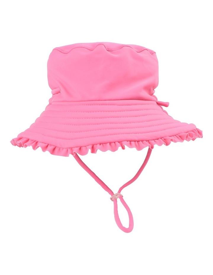 PINK SWIM HAT image 1