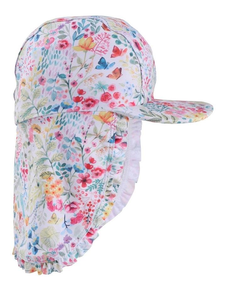 Maddy Legionnaire Floral Swim Hat image 1