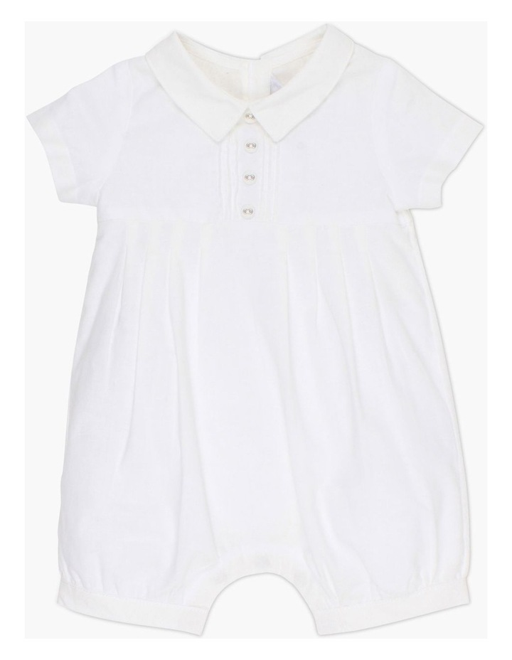 Boys Pleat Romper image 1