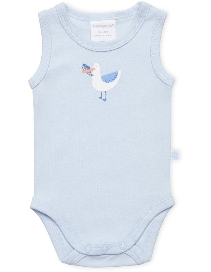 Seagull 2 Pack Romper And Bodysuit Set image 3
