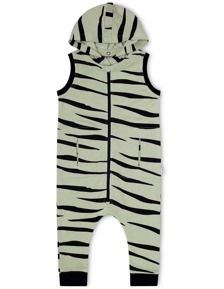Zebra Hoodie Onesie image 1