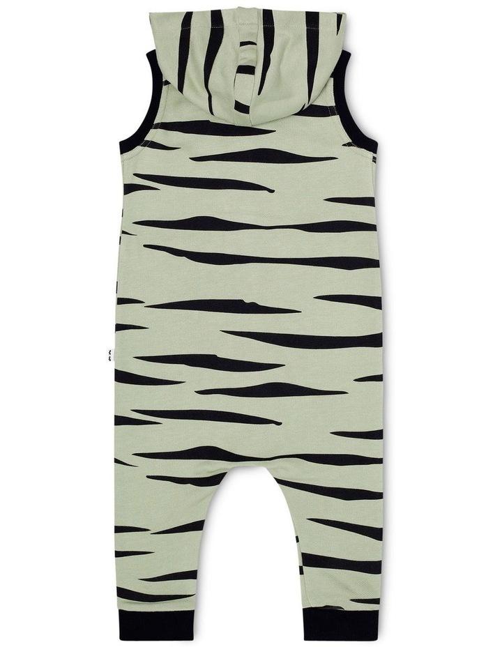 Zebra Hoodie Onesie image 2