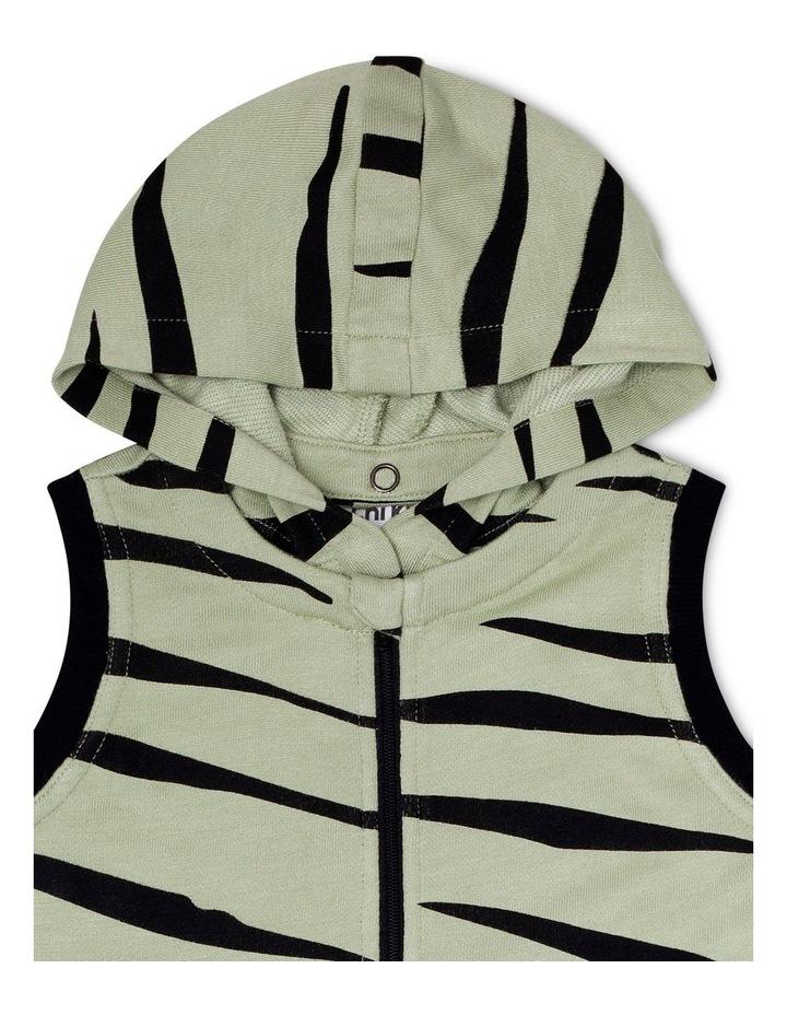 Zebra Hoodie Onesie image 3