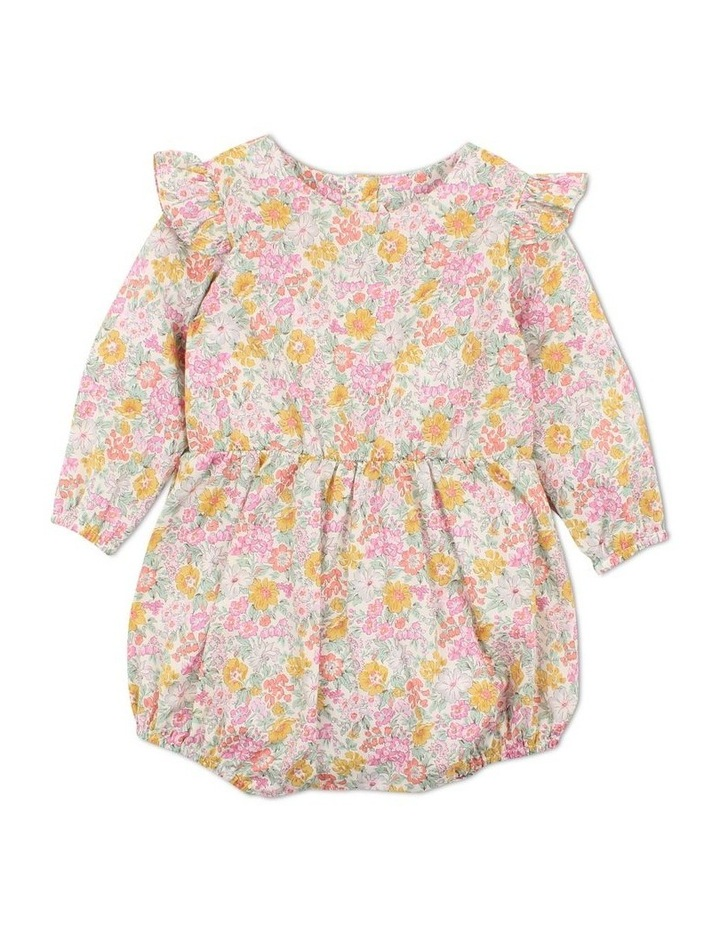 Liberty Honey Dew Woven Romper image 1