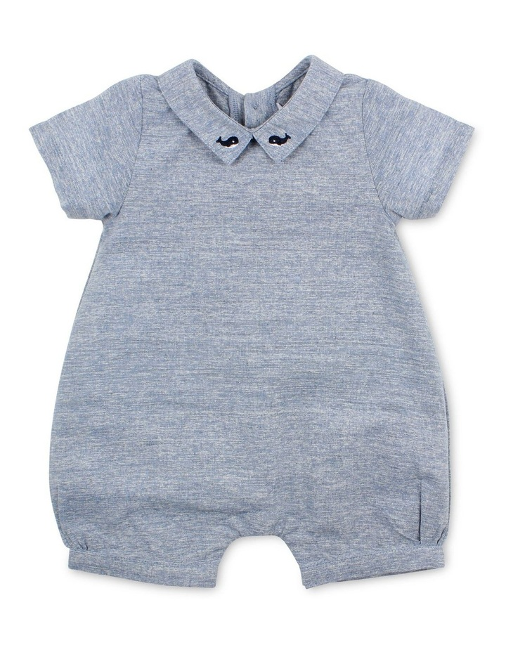 HARRY ROMPER WITH COLLAR image 1