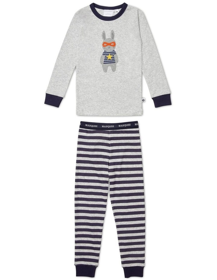 Boys Super Bunny Pyjamas image 1