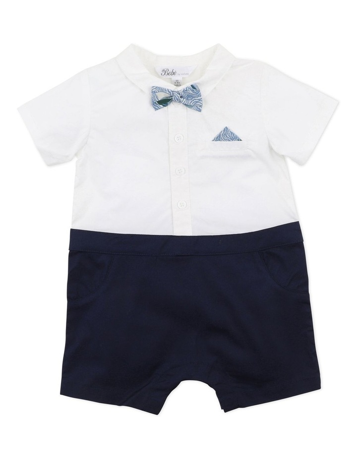 Liberty Sail Away Bow Tie Romper image 1