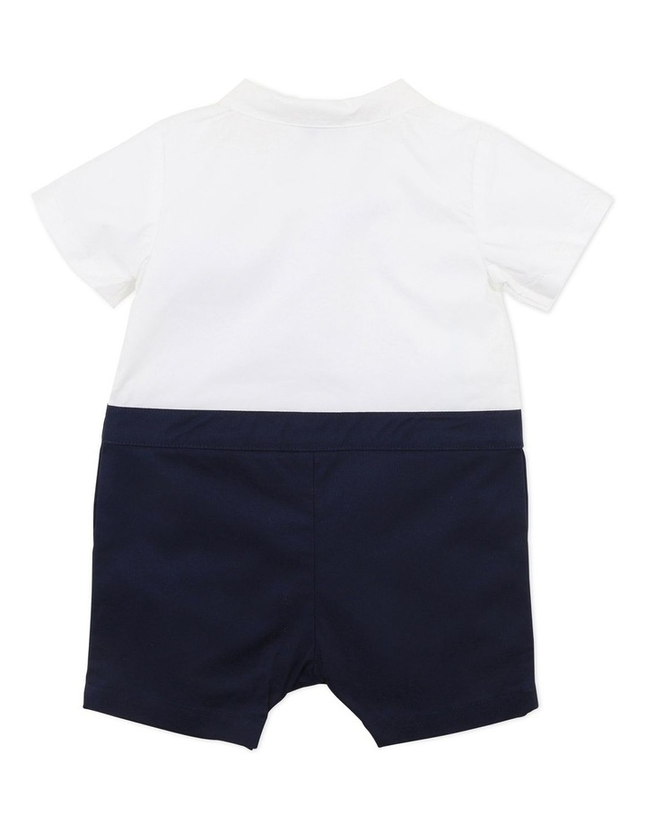 Liberty Sail Away Bow Tie Romper image 2